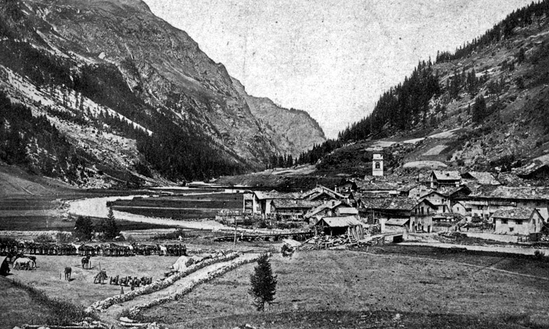 old view tignes brevieres