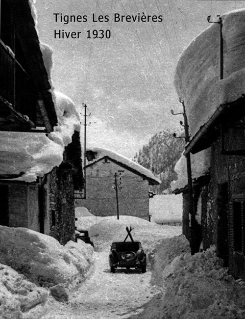 photo historical tignes