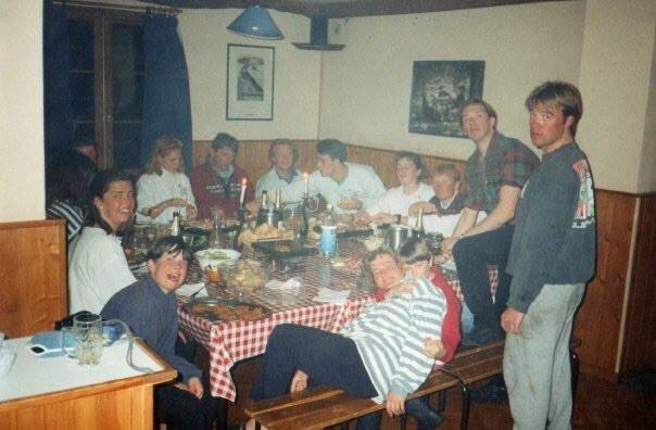 Mark Hayman working for Chardons in 1994