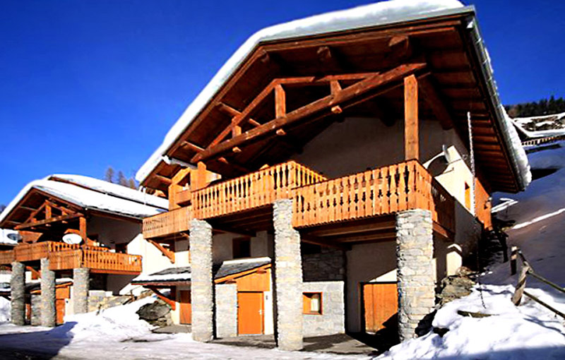Chalet Chardons Hatties ski lodge