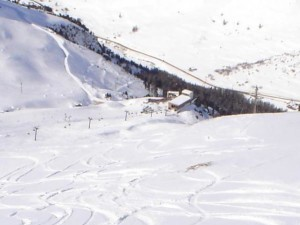 Slopes of the Val d'Isère