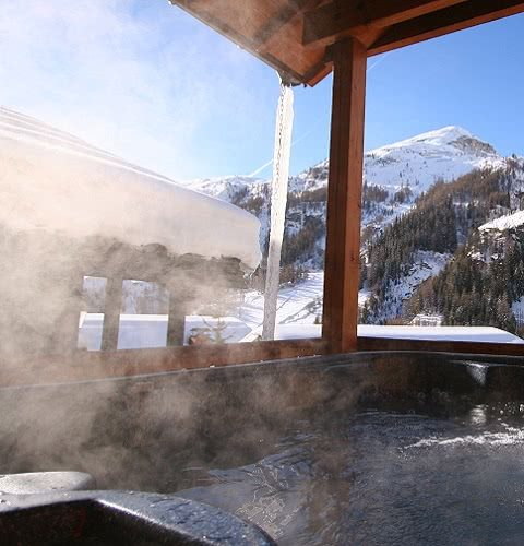 Chalets with hot tubs in Tignes and Val d'Isere