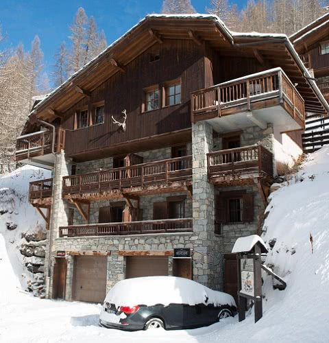 Chalets in Tignes and Val d'Isere