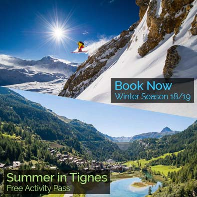 Chardons Summer & Winter in Tignes