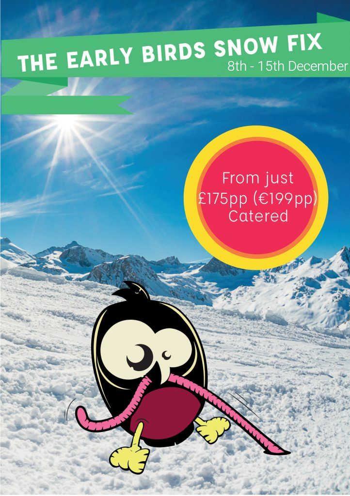 Early Bird Discounts Start of December Ski Cheap